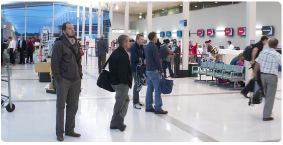 hamilton airport dropoff